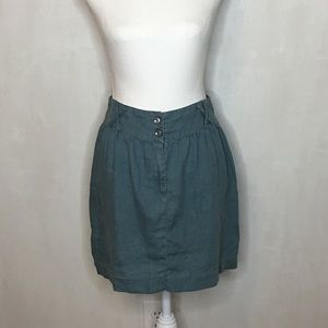 Urban Outfitters Kimchi Blue Linen Skirt